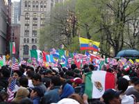 Marcha mundial contra terrorismo de estado en Colombia