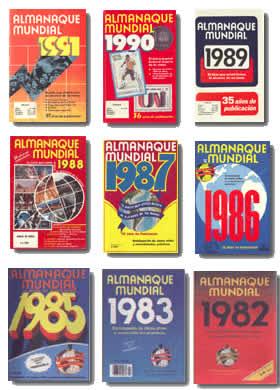 portadas de la revista almanaque mundial